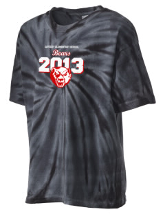 Gatzert Elementary School Bears Kid's Tie-Dye T-Shirt