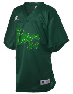 John Rogers Elementary School Otters Russell Kid's Replica Football Jersey