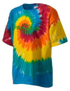 Franklin High School Quakers Kid's Tie-Dye T-Shirt