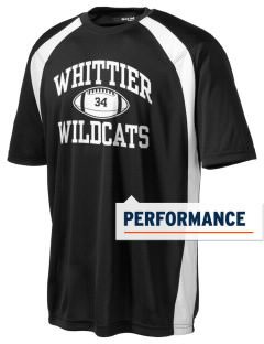 Whittier Elementary School Wildcats Men's Dry Zone Colorblock T-Shirt