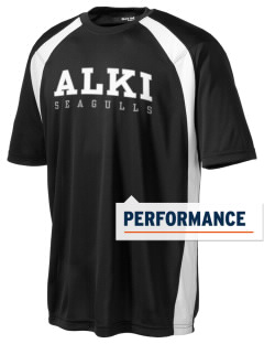 Alki Elementary School Seagulls Men's Dry Zone Colorblock T-Shirt