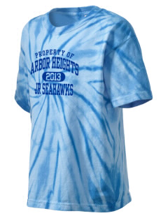 Arbor Heights Elementary School Jr Seahawks Kid's Tie-Dye T-Shirt