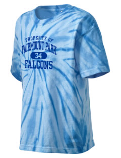 Fairmount Park Elementary School Falcons Kid's Tie-Dye T-Shirt