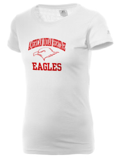 American Indian Heritage School Eagles  Russell Women's Campus T-Shirt