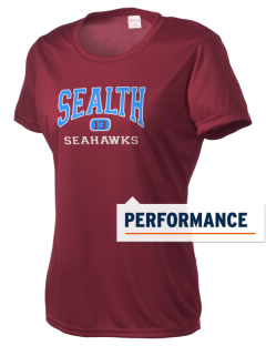 Sealth High School Seahawks Women's Competitor Performance T-Shirt