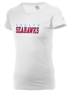 Sealth High School Seahawks  Russell Women's Campus T-Shirt