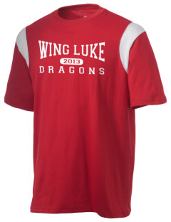 Wing Luke Elementary School Dragons Holloway Men's Rush T-Shirt