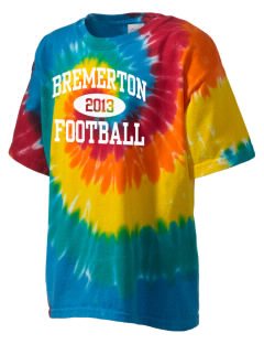 Bremerton Junior High School Bulldogs Kid's Tie-Dye T-Shirt