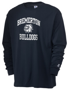 Bremerton Junior High School Bulldogs  Russell Men's Long Sleeve T-Shirt