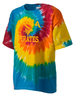 Adna Senior High School Pirates Kid's Tie-Dye T-Shirt