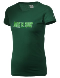 Mary M Knight School Owls  Russell Women's Campus T-Shirt