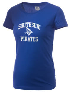 Southside Elementary School Pirates  Russell Women's Campus T-Shirt