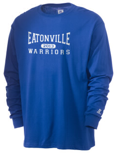Eatonville Elementary School Warriors  Russell Men's Long Sleeve T-Shirt