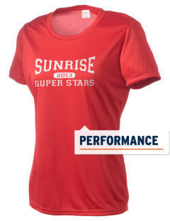 Sunrise Elementary School Super Stars Women's Competitor Performance T-Shirt