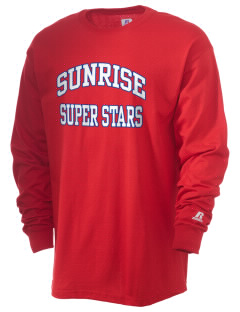 Sunrise Elementary School Super Stars  Russell Men's Long Sleeve T-Shirt