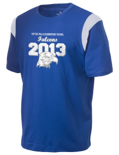 Victor Falls Elementary School Falcons Holloway Men's Rush T-Shirt