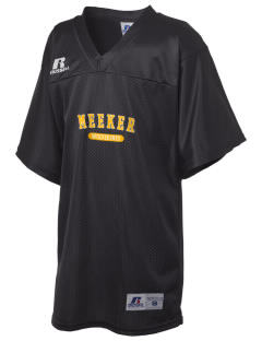Meeker Middle School Wolverines Russell Kid's Replica Football Jersey