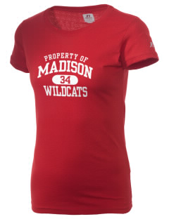 Madison Elementary School Wildcats  Russell Women's Campus T-Shirt