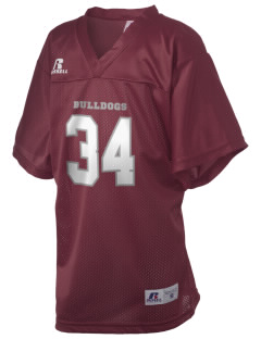 Balboa Elementary School Bulldogs Russell Kid's Replica Football Jersey