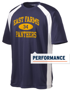 East Farms Elementary School Panthers Men's Dry Zone Colorblock T-Shirt