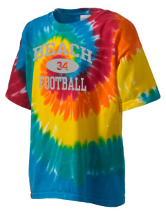 Beach Elementary School Eagles Kid's Tie-Dye T-Shirt