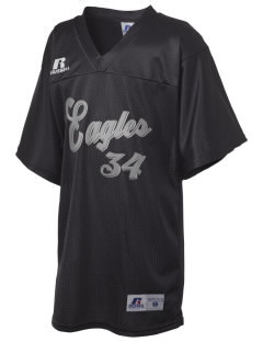 Beach Elementary School Eagles Russell Kid's Replica Football Jersey