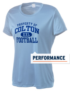 Colton High School Wildcats Women's Competitor Performance T-Shirt