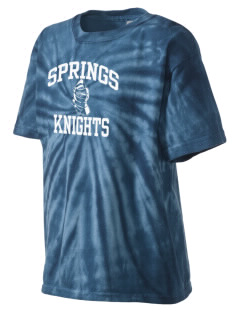 Springs Academy Knights Kid's Tie-Dye T-Shirt