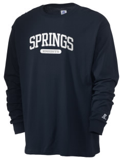 Springs Academy Knights  Russell Men's Long Sleeve T-Shirt