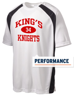 King's Junior High School Knights Men's Dry Zone Colorblock T-Shirt