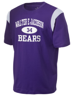 Walter E Jacobson Elementary School Bears Holloway Men's Rush T-Shirt