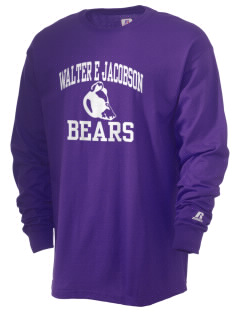 Walter E Jacobson Elementary School Bears  Russell Men's Long Sleeve T-Shirt