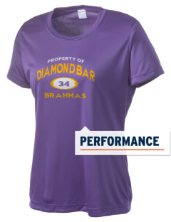 Diamond Bar High School Brahmas Women's Competitor Performance T-Shirt