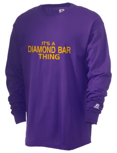 Diamond Bar High School Brahmas  Russell Men's Long Sleeve T-Shirt