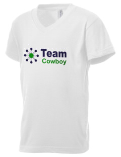 Team Cowboy Team Cowboy Kid's V-Neck Jersey T-Shirt