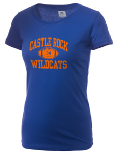 Castle Rock Woodlake Valley Schools Knights  Russell Women's Campus T-Shirt