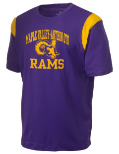 Maple Valley-Anthon Oto High School Rams Holloway Men's Rush T-Shirt