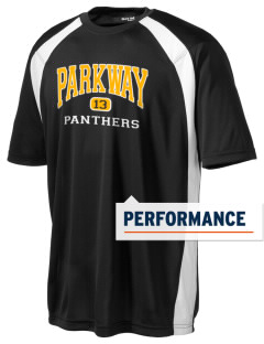 Parkway High School Panthers Men's Dry Zone Colorblock T-Shirt