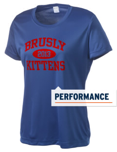 Brusly Elementary School Kittens Women's Competitor Performance T-Shirt