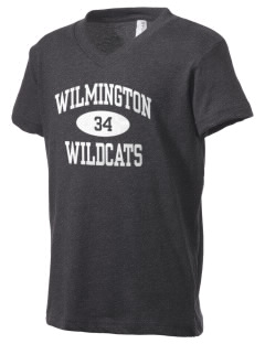 Wilmington High School Wildcats Kid's V-Neck Jersey T-Shirt
