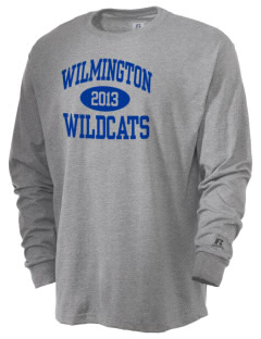 Wilmington High School Wildcats  Russell Men's Long Sleeve T-Shirt