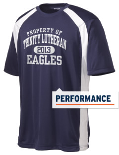 Trinity Lutheran School Eagles Men's Dry Zone Colorblock T-Shirt