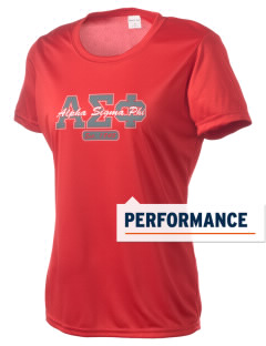 Alpha Sigma Phi Women's Competitor Performance T-Shirt