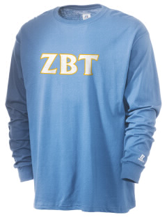 Zeta Beta Tau  Russell Men's Long Sleeve T-Shirt