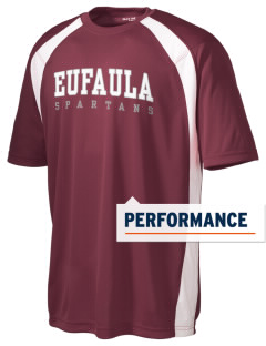 Eufaula Middle School Spartans Men's Dry Zone Colorblock T-Shirt