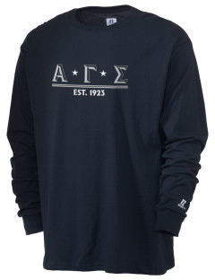 Alpha Gamma Sigma  Russell Men's Long Sleeve T-Shirt