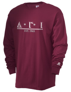 Delta Gamma Iota  Russell Men's Long Sleeve T-Shirt