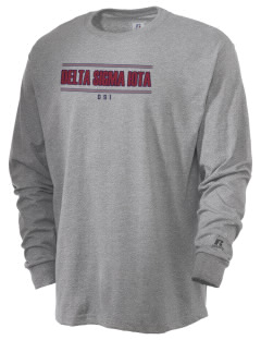 Delta Sigma Iota  Russell Men's Long Sleeve T-Shirt