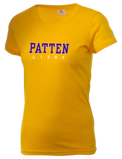 Patten University Lions  Russell Women's Campus T-Shirt