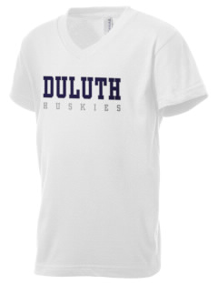 Duluth Business University University Kid's V-Neck Jersey T-Shirt